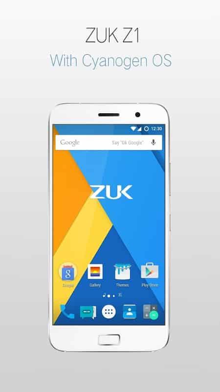 รูป 260150 ประกอบเนื้อหา ZUK จับมือ Cyanogen เปิดตัวสมาร์ทโฟนรุ่น Z1 สู่ตลาดทั่วโลกอย่างเป็นทางการ