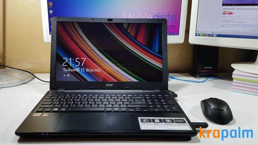 รูป Acer E5 551G 171 ประกอบเนื้อหา รีวิวโน้ตบุ๊ค Acer Aspire E5-551G-F4U1 ตัวแรงราคาแค่ 19,990 บาท
