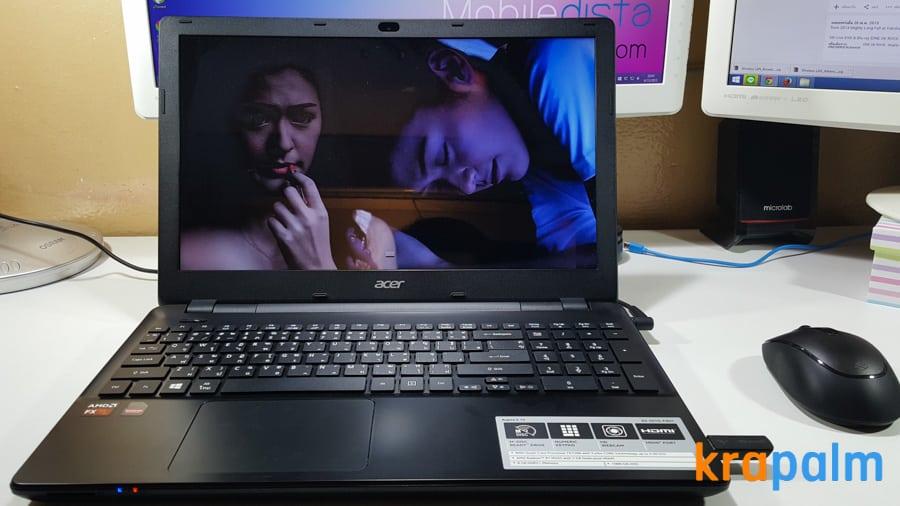 รูป Acer E5 551G 191 ประกอบเนื้อหา รีวิวโน้ตบุ๊ค Acer Aspire E5-551G-F4U1 ตัวแรงราคาแค่ 19,990 บาท