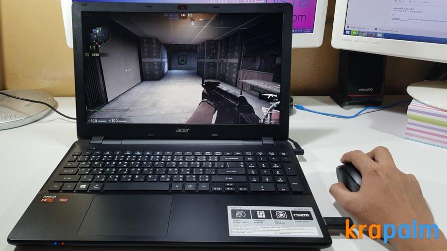รูป Acer E5 551G 201 ประกอบเนื้อหา รีวิวโน้ตบุ๊ค Acer Aspire E5-551G-F4U1 ตัวแรงราคาแค่ 19,990 บาท