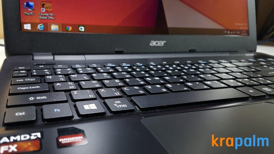 รูป Acer E5 551G 71 ประกอบเนื้อหา รีวิวโน้ตบุ๊ค Acer Aspire E5-551G-F4U1 ตัวแรงราคาแค่ 19,990 บาท