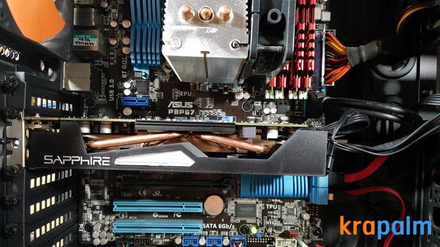 รูป SapphireR9 270x 151 ประกอบเนื้อหา รีวิวการ์ดจอ Sapphire R9 270X Dual-X : Radeon R9 270X series ในราคาเบาๆ