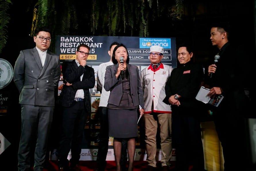 รูป  กีฬา และท่องเที่ยว กล่าวเปิดงาน 890x5941 ประกอบเนื้อหา [PR] วงในเปิดตัวโครงการ Bangkok Restaurant Week 2015