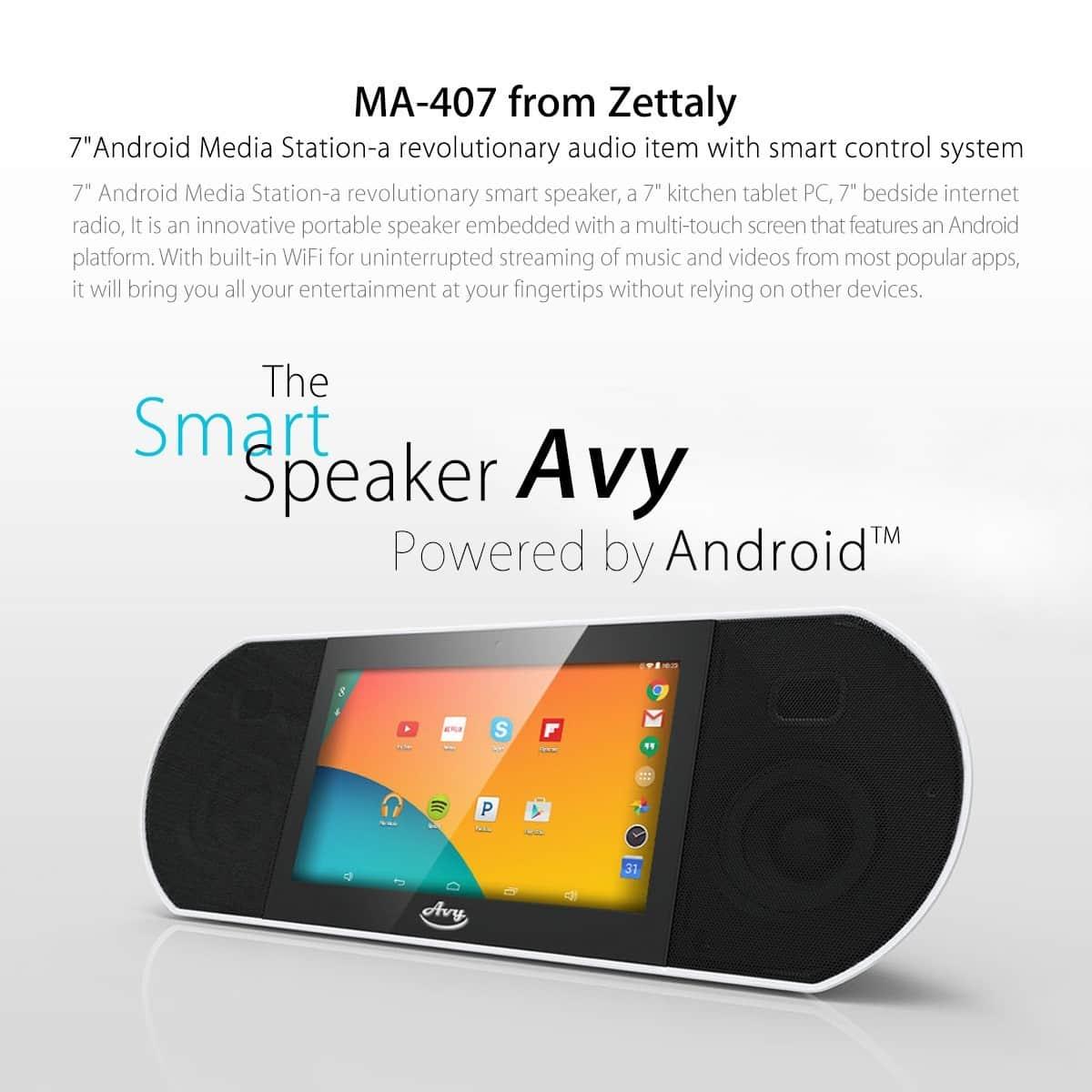 รูป Avy1 ประกอบเนื้อหา พบนวัตกรรมล้ำเวอร์กับ Gadget รุ่นใหม่ที่งาน Thailand Mobile Expo 2015