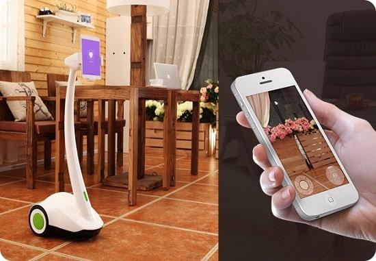 รูป PadBot Auto Response1 ประกอบเนื้อหา พบนวัตกรรมล้ำเวอร์กับ Gadget รุ่นใหม่ที่งาน Thailand Mobile Expo 2015