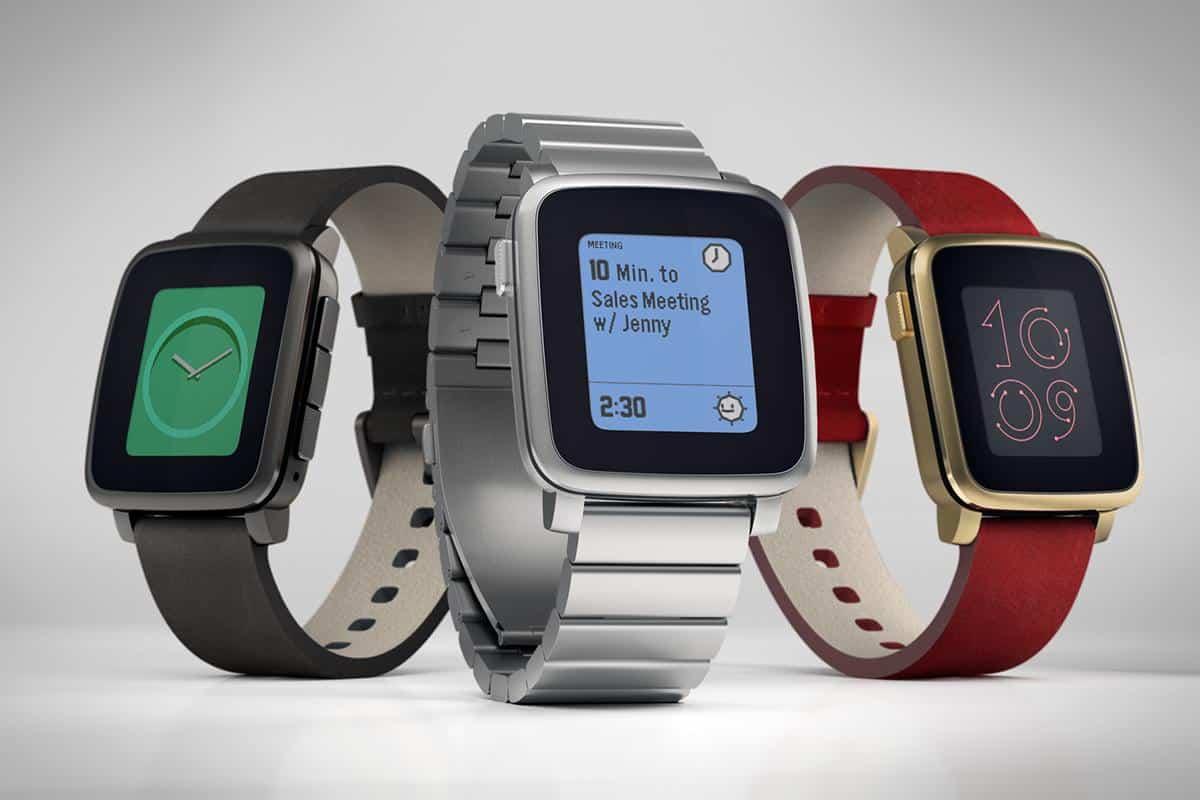 รูป Pebble Time Steel1 ประกอบเนื้อหา พบนวัตกรรมล้ำเวอร์กับ Gadget รุ่นใหม่ที่งาน Thailand Mobile Expo 2015