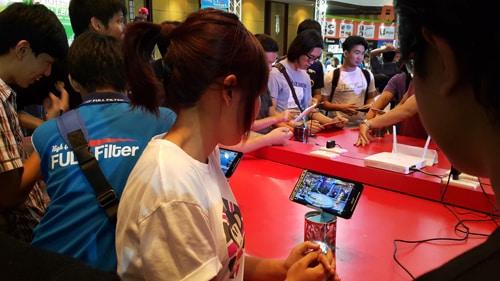 รูป TME00143 ประกอบเนื้อหา Thailand Mobile Expo 2015 GAME ZONE ครั้งที่ 3 งานเกมมือถือตัวจริง