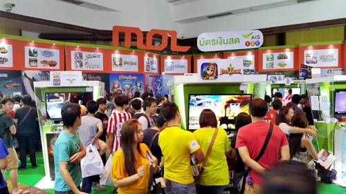 รูป TME00163 ประกอบเนื้อหา Thailand Mobile Expo 2015 GAME ZONE ครั้งที่ 3 งานเกมมือถือตัวจริง