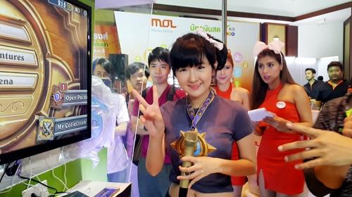 รูป TME00173 ประกอบเนื้อหา Thailand Mobile Expo 2015 GAME ZONE ครั้งที่ 3 งานเกมมือถือตัวจริง