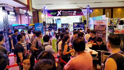 รูป TME0023 ประกอบเนื้อหา Thailand Mobile Expo 2015 GAME ZONE ครั้งที่ 3 งานเกมมือถือตัวจริง