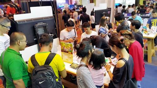 รูป TME0043 ประกอบเนื้อหา Thailand Mobile Expo 2015 GAME ZONE ครั้งที่ 3 งานเกมมือถือตัวจริง