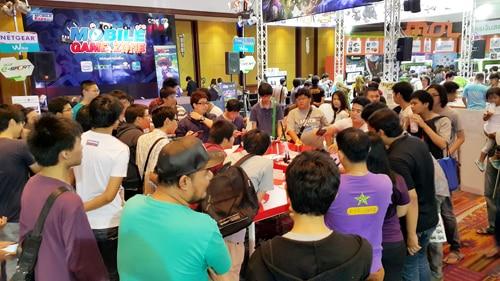 รูป TME0053 ประกอบเนื้อหา Thailand Mobile Expo 2015 GAME ZONE ครั้งที่ 3 งานเกมมือถือตัวจริง