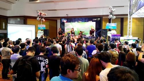 รูป TME0073 ประกอบเนื้อหา Thailand Mobile Expo 2015 GAME ZONE ครั้งที่ 3 งานเกมมือถือตัวจริง