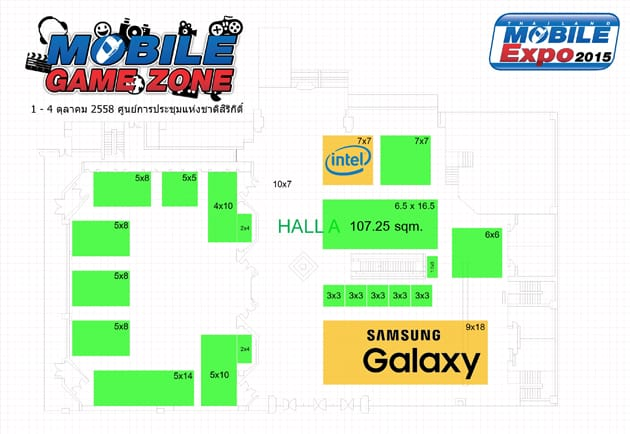รูป TMEGAME3 Mini3 ประกอบเนื้อหา Thailand Mobile Expo 2015 GAME ZONE ครั้งที่ 3 งานเกมมือถือตัวจริง
