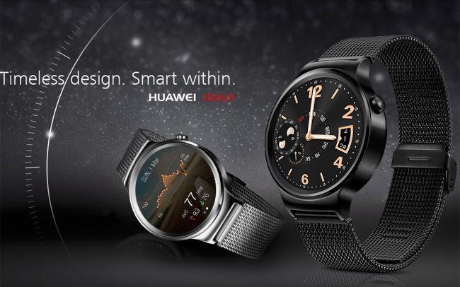 รูป huawei watch ประกอบเนื้อหา พบนวัตกรรมล้ำเวอร์กับ Gadget รุ่นใหม่ที่งาน Thailand Mobile Expo 2015