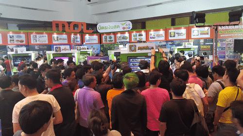 รูป tme pr2 ประกอบเนื้อหา ความสนุกกำลังจะมา ในงาน Thailand Mobile Expo 2015 กิจกรรมดี โปรโมชั่นโดนที่บูท MOL กับบัตรเงินสดแฮปปี้