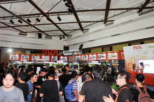 รูป tme pr5 ประกอบเนื้อหา ความสนุกกำลังจะมา ในงาน Thailand Mobile Expo 2015 กิจกรรมดี โปรโมชั่นโดนที่บูท MOL กับบัตรเงินสดแฮปปี้