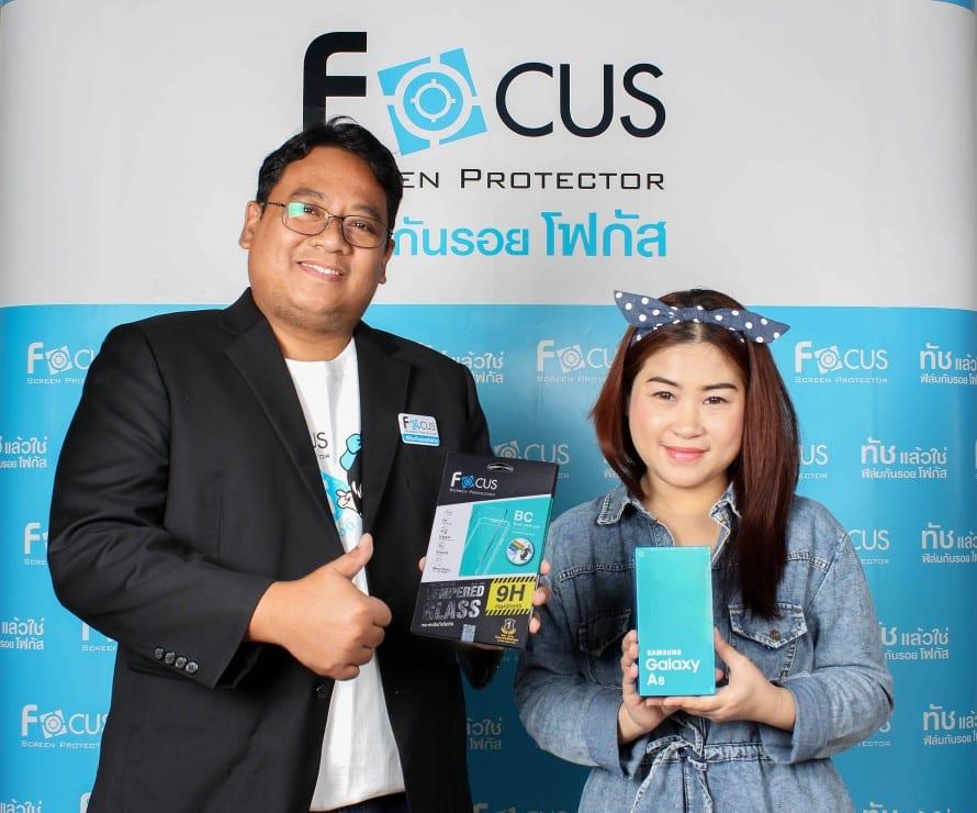รูป Focus แจก A8 1 890x7401 ประกอบเนื้อหา [PR] ฟิล์มและกระจกกันรอยโฟกัส แจกจริง Samsung Galaxy A8