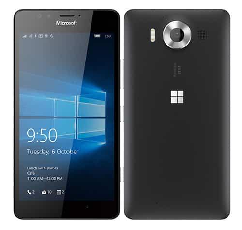 รูป Microsoft Lumia 950 Smartphone ประกอบเนื้อหา ชี้เป้าสมาร์ทโฟนรุ่นเด็ดในงาน Thailand Mobile Expo 2016 Hi-End