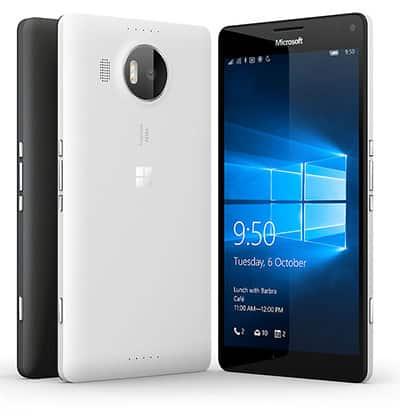 รูป Microsoft Lumia 950 XL ประกอบเนื้อหา ชี้เป้าสมาร์ทโฟนรุ่นเด็ดในงาน Thailand Mobile Expo 2016 Hi-End