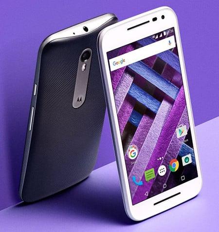 รูป Motorola Moto G Turbo Edition front purple ประกอบเนื้อหา ชี้เป้าสมาร์ทโฟนรุ่นเด็ดในงาน Thailand Mobile Expo 2016 Hi-End