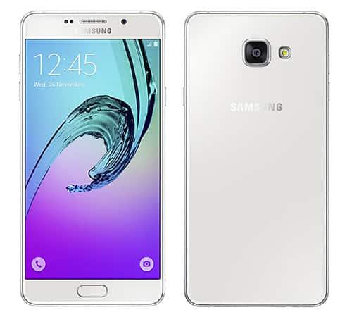 รูป Samsung Galaxy A7 2016 White ประกอบเนื้อหา ชี้เป้าสมาร์ทโฟนรุ่นเด็ดในงาน Thailand Mobile Expo 2016 Hi-End