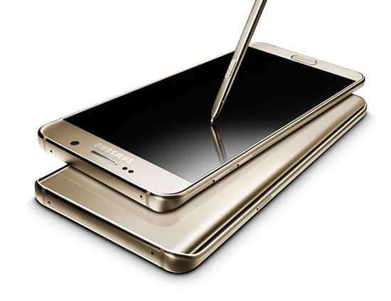 รูป Samsung Galaxy Note 5 ประกอบเนื้อหา ชี้เป้าสมาร์ทโฟนรุ่นเด็ดในงาน Thailand Mobile Expo 2016 Hi-End