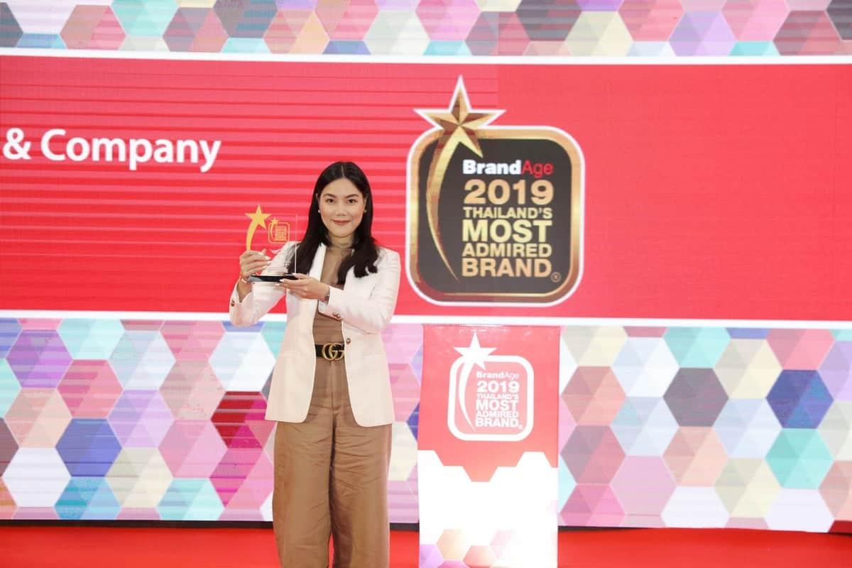 รูป AIS Thailand's Most Admired Brand Company 00003 ประกอบเนื้อหา AIS คว้ารางวัล Thailand's Most Admired Brand & Company ต่อเนื่องยาวนานถึง 19 ปี