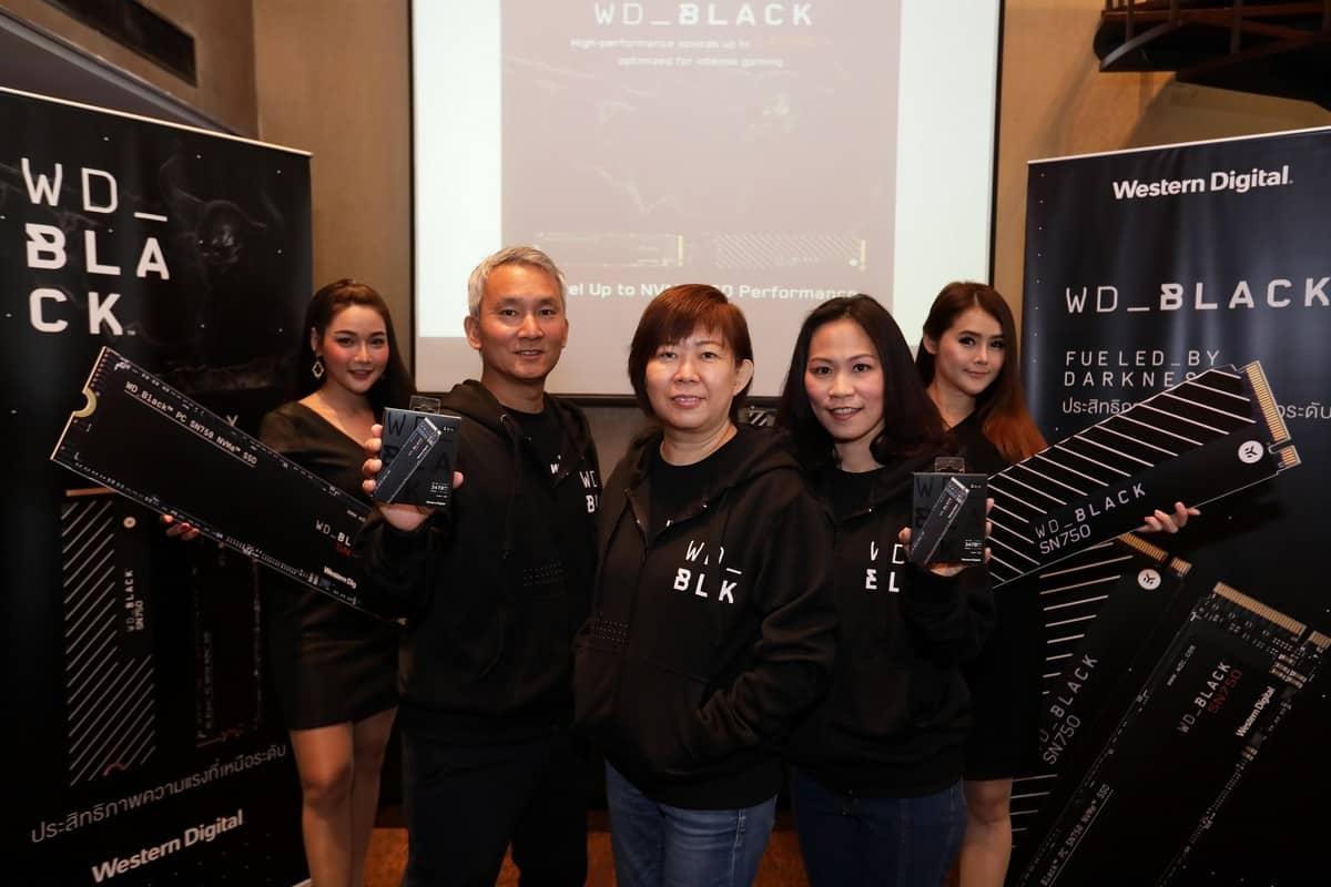 รูป WD Black SN750 15 ประกอบเนื้อหา เวสเทิร์น ดิจิตอล คอร์ปอร์เรชั่น เปิดตัว WD Black SN750 NVMe SSD