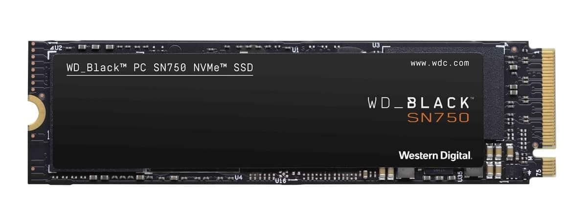 รูป WD Black SN750 Noheatsink 1 ประกอบเนื้อหา เวสเทิร์น ดิจิตอล คอร์ปอร์เรชั่น เปิดตัว WD Black SN750 NVMe SSD