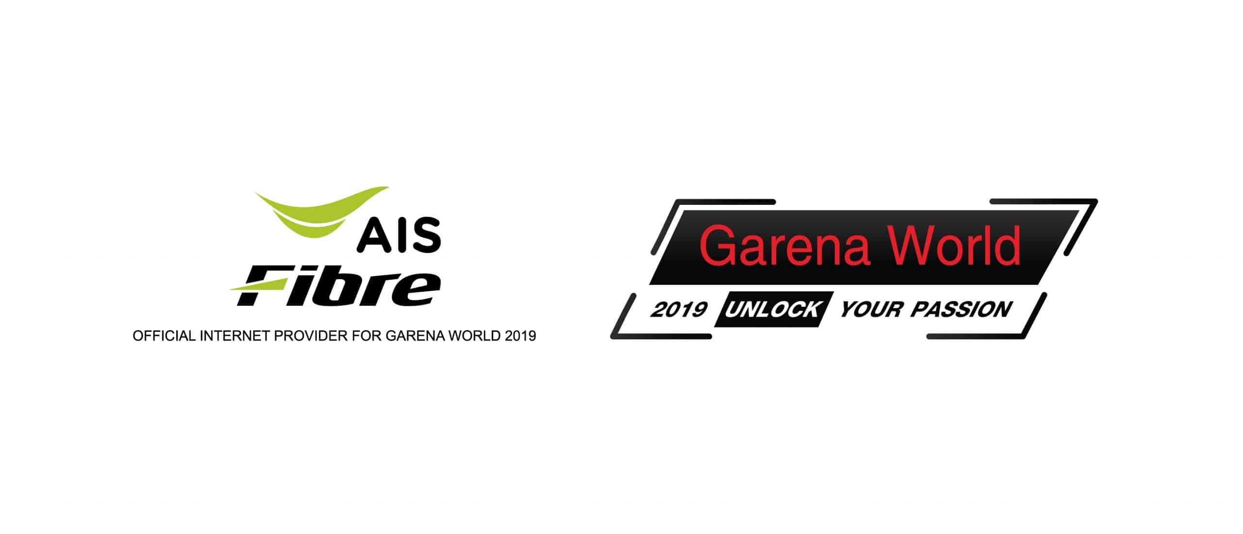 รูป AIS x Garena World 2019 ประกอบเนื้อหา AIS Fibre จัดเต็ม งาน Garena World 2019 มหกรรมการแข่งขันกีฬาอีสปอร์ตที่ยิ่งใหญ่ที่สุดในเอเชียตะวันออกเฉียงใต้