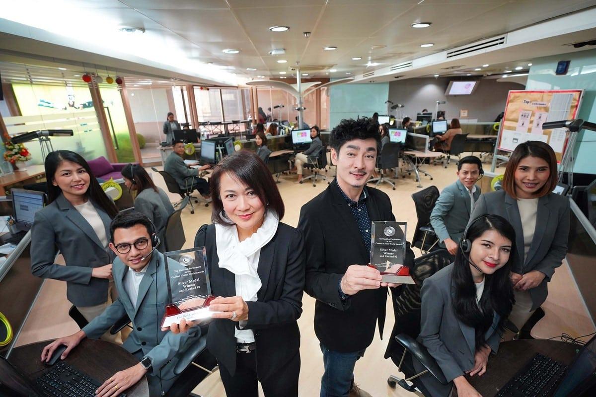 รูป 14th ANNUAL GLOBAL AWARDS 00002 ประกอบเนื้อหา สมาคม Contact Center World ยกให้ AIS Contact Center คว้า 2 รางวัลระ ดับโลก