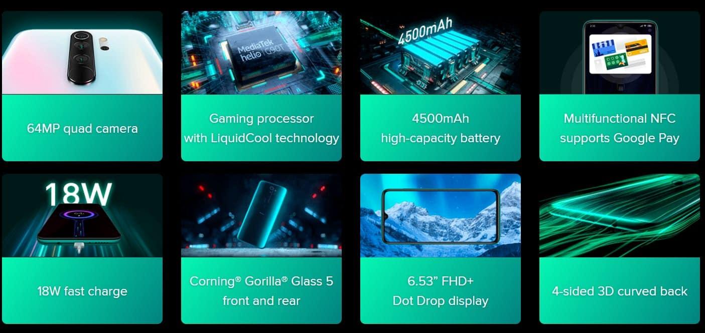 รูป 2019 12 22 21 24 00 1 ประกอบเนื้อหา Redmi Note 8 Pro สมาร์ทโฟนระดับกลางและอุปกรณ์อัจ ฉริยะ กล้อง 64 ล้าน