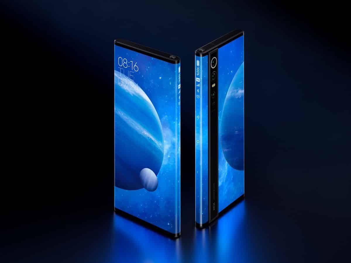 รูป Mi MIX Alpha 02 ประกอบเนื้อหา เสียวหมี่ นำ Mi MIX Alpha มาโชว์สุดยอดนวัตกรรมก ารออกแบบสมาร์ทโฟนครั้งแรกในไทย