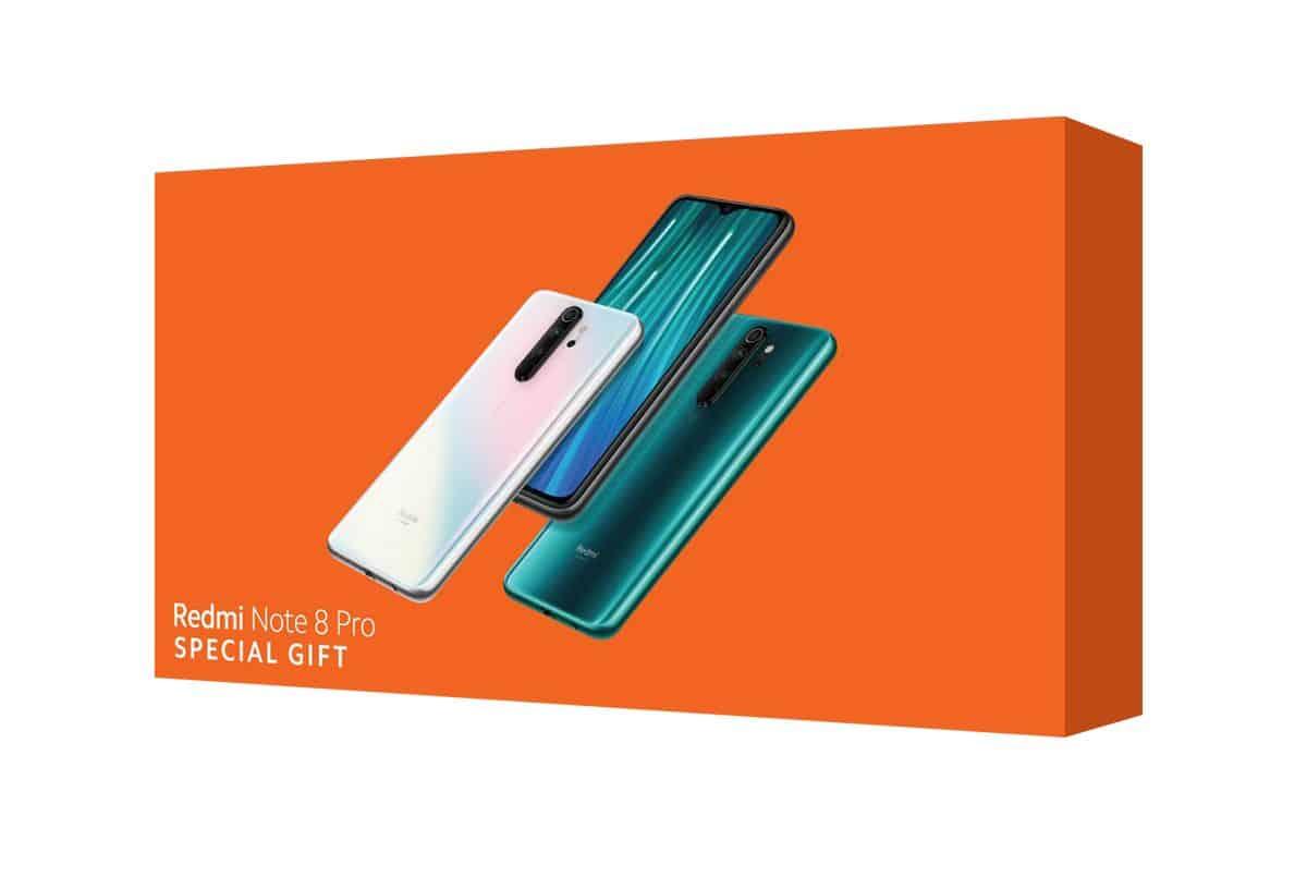 รูป Redmi Note 8 Pro Special Gift ประกอบเนื้อหา Xiaomi แนะนำทางเลือกหนึ่งในการมองหาของขวัญ ในช่วงเทศกาล
