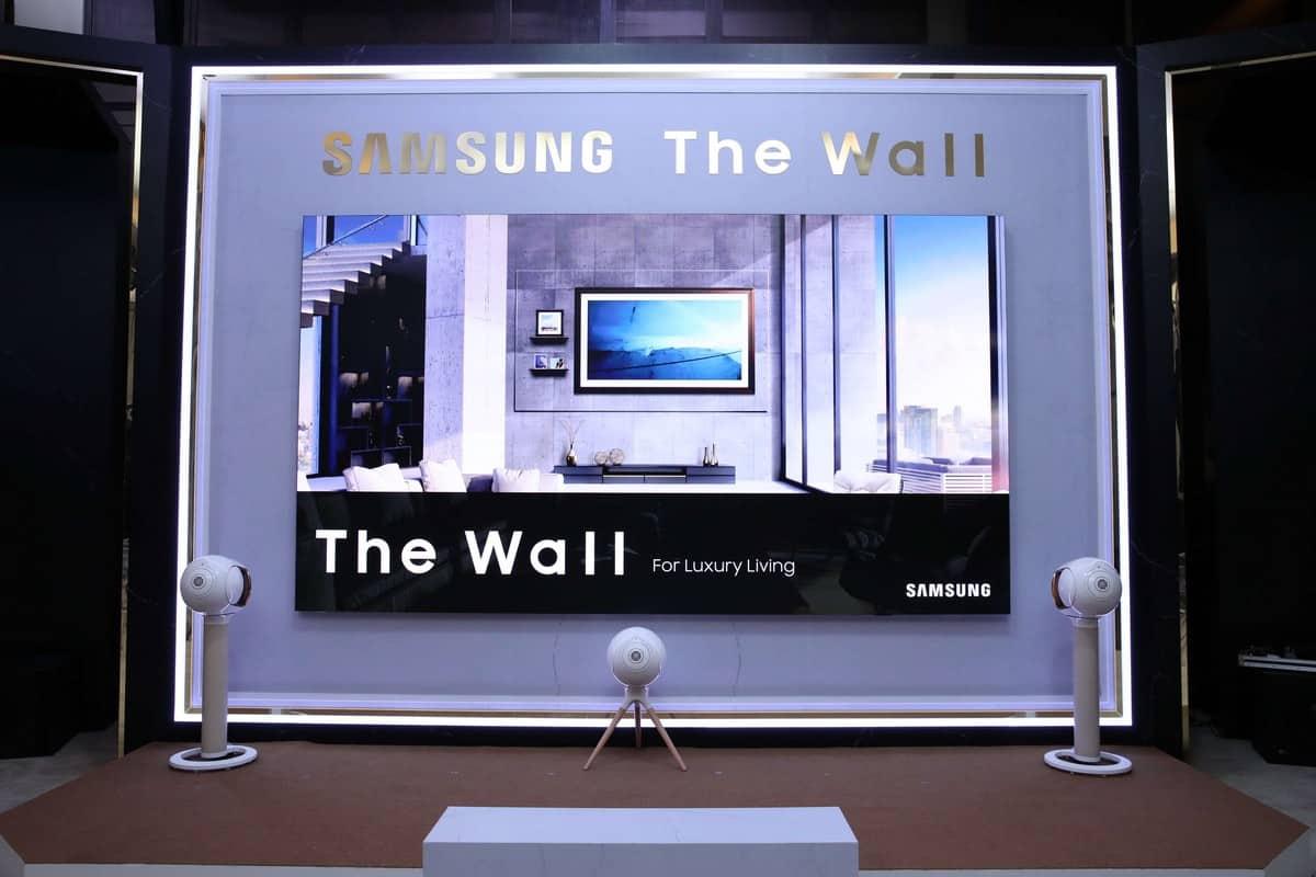 รูป The Wall Luxury 00005 ประกอบเนื้อหา ซัมซุงเปิดตัว The Wall Luxury จอภาพขนาดยักษ์ 146 นิ้ ว ถึง 292 นิ้ว
