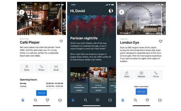 รูป 2020 01 17 08 54 34 ประกอบเนื้อหา Booking.com เปิดตัว CityBook แอปพลิเคชั่นรุ่นทดลอง เ วอร์ชั่นใหม่ที่อัมสเตอร์ดัม ลอนดอน และปาร ีส