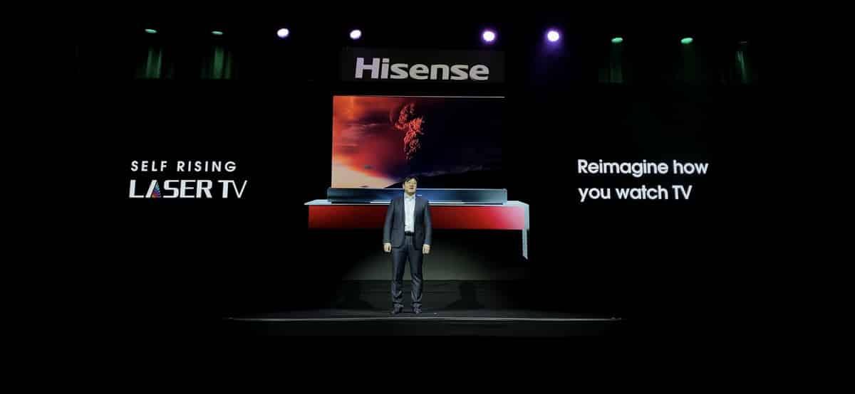 รูป 20200107 2683789 1 ประกอบเนื้อหา Hisense เปิดตัว Self-Rising Screen Laser TV ทีวีม้วนเก็บได้ ที ่งาน CES 2020