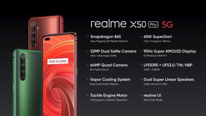 รูป 1.3 ประกอบเนื้อหา realme เปิดตัว realme X50 Pro 5G เปิดประสบการณ์ความเร็ วแห่งอนาคต
