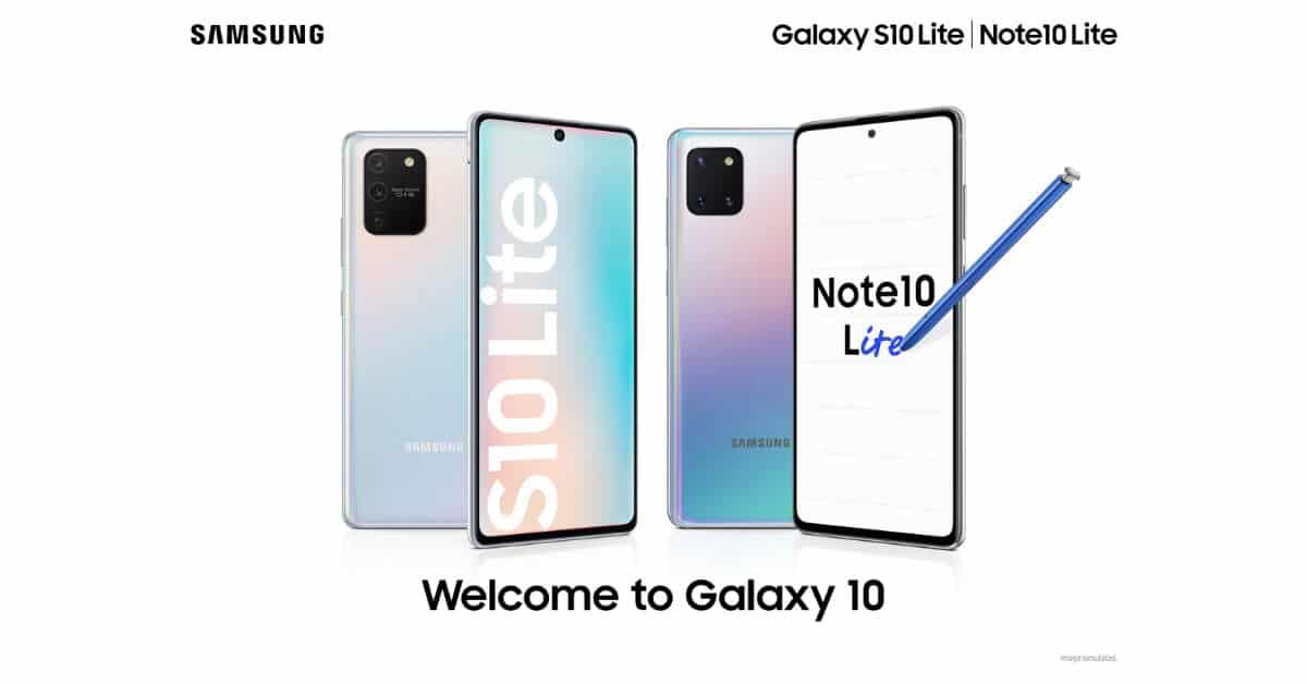 รูป 2020 02 02 16 46 37 ประกอบเนื้อหา ซัมซุงเปิดตัวไลน์อัปใหม่ Galaxy Note 10 Lite และ Galaxy S 10 Lite