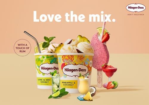 รูป HD Coctail pint   stickbar 1 ประกอบเนื้อหา ฮาเก้น-ดาส ชวนอร่อยรับซัมเมอร์ด้วยไอศกรีมค็อกเทล 3 รสชาติใหม่