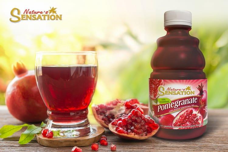 รูป NS น้ำทับทิม aaa tDq0pXOR3ndu ประกอบเนื้อหา Refreshed and healthy this summer with Nature's Sensation Pomegranate Juice