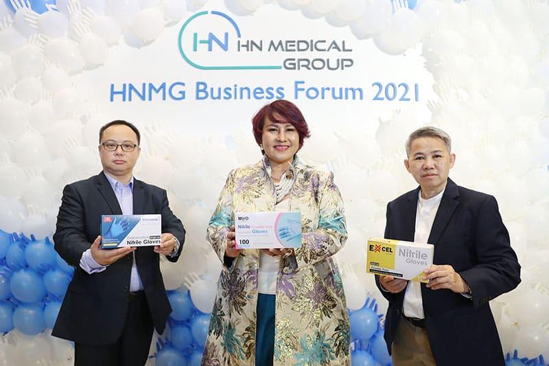 รูป hnmg001 ประกอบเนื้อหา HN Medical Group stages HNMG Business Forum 2021
